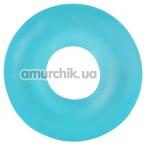 Эрекционное кольцо Stretchy Cock Ring, голубое - Фото №1