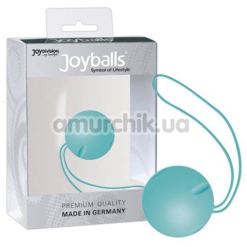 Вагинальный шарик Joyballs Single, бирюзовый