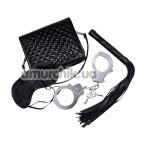 Бондажный набор Bad Kitty Tasche Fesselset, черный - Фото №1