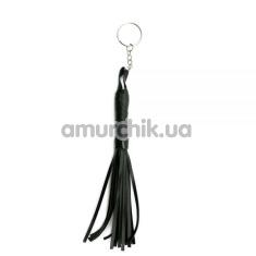 Брелок в виде плети Sexy Keychain Whip, черный - Фото №1