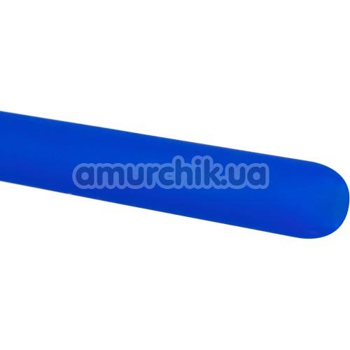 Уретральная вставка с вибрацией для мужчин Silikon Dilator, синяя