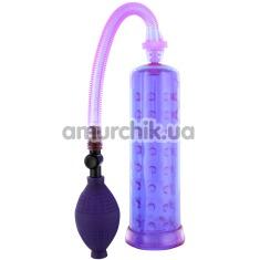 Вакуумная помпа Penis Enlarger, фиолетовая - Фото №1