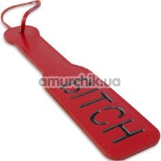 Шлепалка Пикантные Штучки BITCH, красная - Фото №1