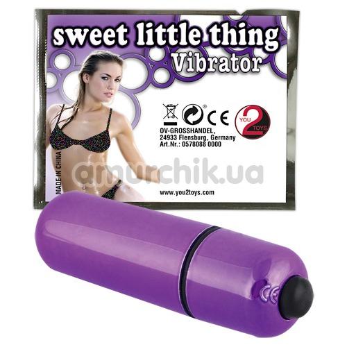 Клиторальный вибратор Sweet little Thing Vibrator, фиолетовый