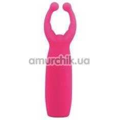 Вибратор Joy Jumper Hollyhock, розовый - Фото №1