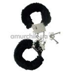 Наручники Handschellen Love Cuffs черные - Фото №1