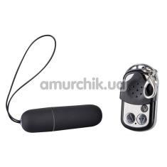 Клиторальный вибратор Erostyle Vibro-Bullet, черная - Фото №1