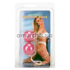 Вагинальные шарики Neon Coloured Orgasm Balls, фиолетовые