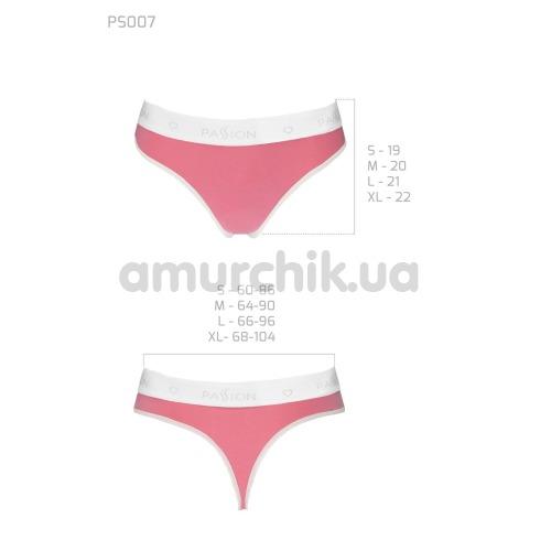 Трусики-стринги Passion PS007 Panties, розовые