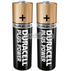 Батарейки Duracell Plus Power Duralock AA, 2 шт
