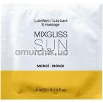 Лубрикант MixGliss Sun Monoi - моной, 4 мл - Фото №1