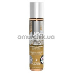 Оральный лубрикант JO H2O Vanilla Cream - ваниль, 30 мл - Фото №1