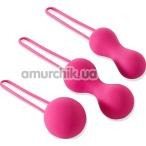 Набор вагинальных шариков Je Joue Ami, розовый - Фото №1