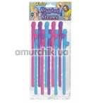 Трубочки для напитков Dicky Sipping Straws Coloured 10 шт - Фото №1