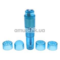 Клиторальный вибратор Pocket Pleasure, голубой