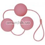 Вагинальные шарики Velvet Pink Balls розовые