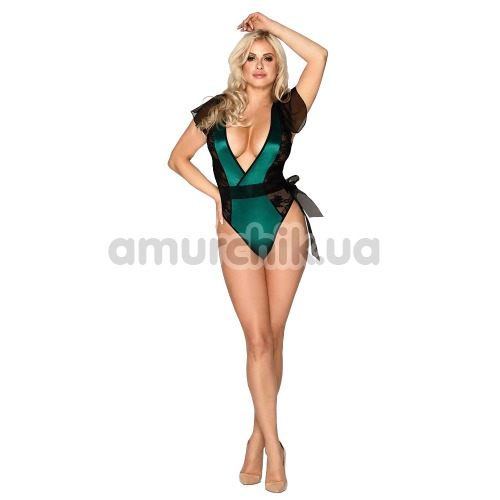 Боди JSY Sexy Lingerie SO3653, зеленое - Фото №1
