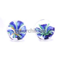 Купить Вагинальные шарики Ben Wa Blue Blossom