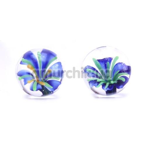 Вагинальные шарики Ben Wa Blue Blossom