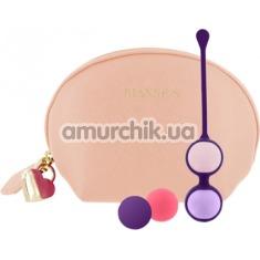 Набор вагинальных шариков Rianne S Essentials Pussy Playballs, бежевый - Фото №1