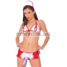 Страпон + костюм медсестры Vac-U-Lock Diva Dreams Naughty Nurse - Фото №1