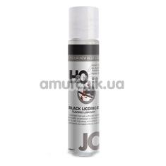 Оральный лубрикант JO H2O Black Licorice - черная лакрица, 30 мл - Фото №1