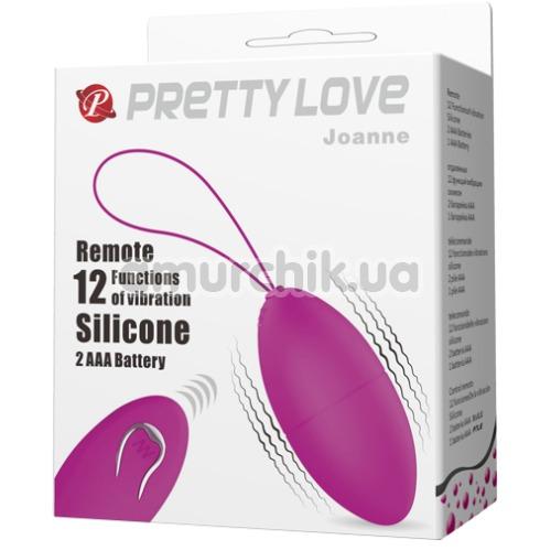 Виброяйцо Pretty Love Joanne, фиолетовое