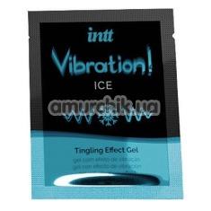 Возбуждающий гель с эффектом вибрации Intt Vibration Ice Tingling Effect Gel - мята, 5 мл - Фото №1
