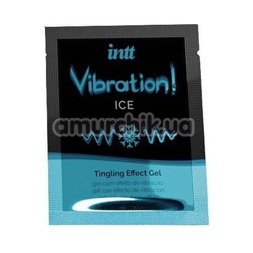 Возбуждающий гель с эффектом вибрации Intt Vibration Ice Tingling Effect Gel - мята, 5 мл