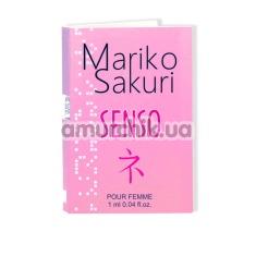 Духи с феромонами Mariko Sakuri Senso для женщин, 1 мл - Фото №1