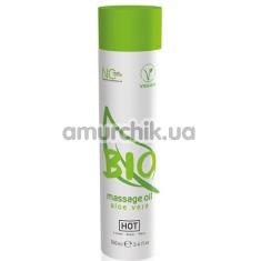 Массажное масло Hot Bio Massage Oil Aloe Vera, 100 мл - Фото №1