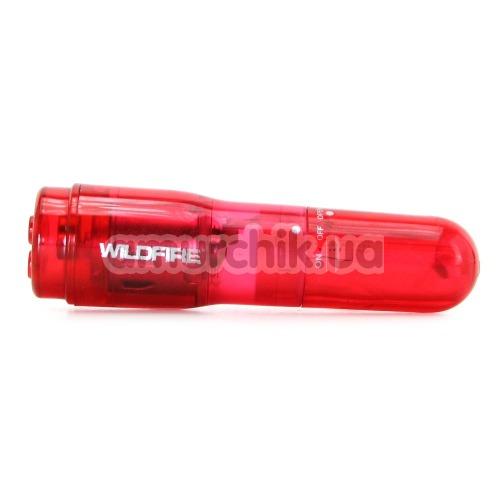 Клиторальный вибратор Wildfire Rock-In, красный