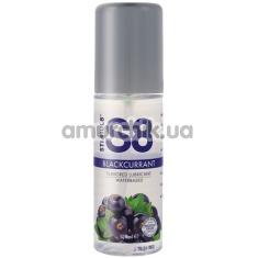 Оральный лубрикант Stimul8 Flavored Lube - черная смородина, 125 мл - Фото №1