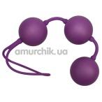Вагинальные шарики Velvet Purple Balls фиолетовые - Фото №1