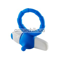 Виброкольцо My Favorite Couple Vibrating Ring, голубое - Фото №1
