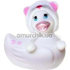 Клиторальный вибратор I Rub My Duckie Hoodie White, белый - Фото №1