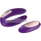 Вибратор с дистанционным управлением Partner Plus Remote, фиолетовый - Фото №1