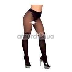 Колготки Open Crotch Tights Black - Фото №1