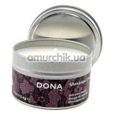 Свеча для массажа Dona Massage Candle Pomegranate - гранат, 120 мл - Фото №1