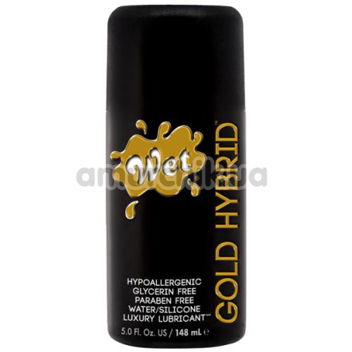 Лубрикант Wet Gold Hybrid, 148 мл