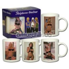 Чашка Stripbecher - девушка - Фото №1