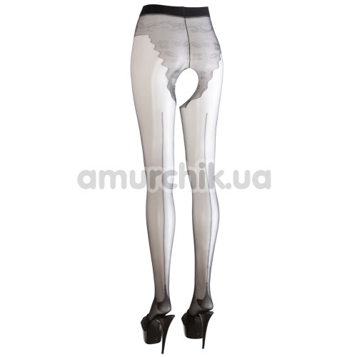 Колготки Cottelli Collection Strumpfhose Ouvert Tights (2510073), чёрные