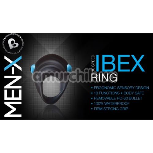 Набор из 2 игрушек Rocks-Off Men-X IBEX, черный