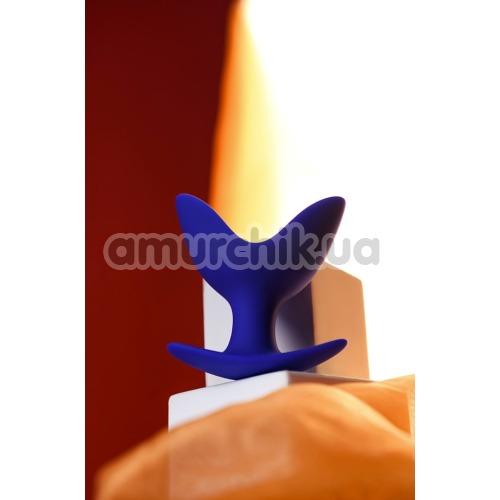 Анальная пробка ToDo Expander Plug Bloom 9 см, синяя