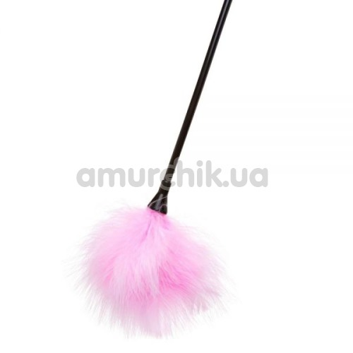 Стек с пушком Loveshop Carrot and Stick, розовый