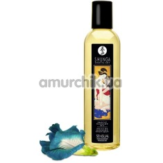Массажное масло Shunga Erotic Massage Oil Sensual Island Blossoms - цветы, 250 мл - Фото №1