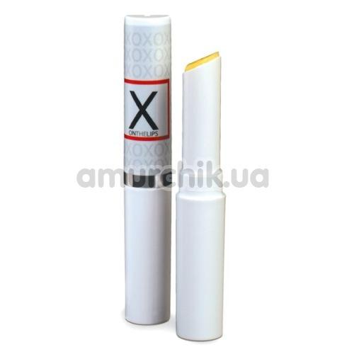 Бальзам для губ с феромонами и эффектом вибрации Sensuva X On The Lips, 2 мл