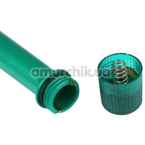 Вибратор для точки G Wildfire Slimline G 7X Mini's, зеленый