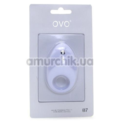 Виброкольцо OVO B7, белое