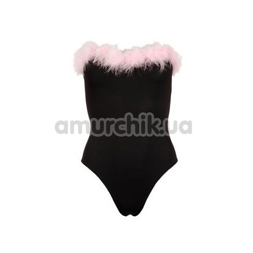 Костюм зайчика Cottelli Collection Costumes 2470608 чёрный: боди + галстук-бабочка + ушки